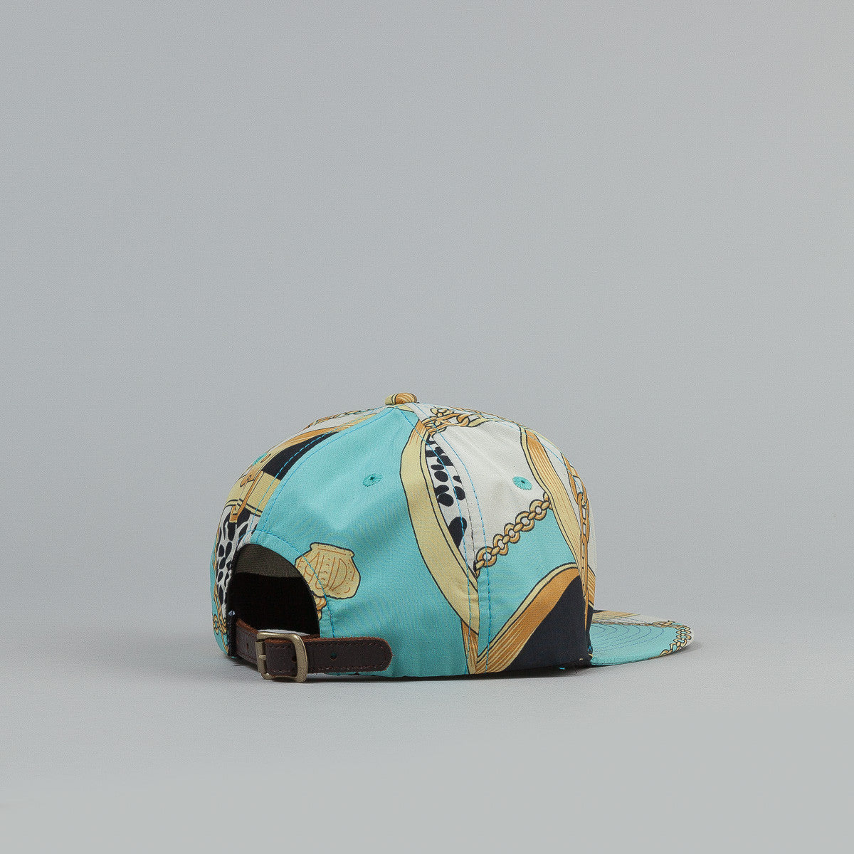 Less Metal Plate Work Cap Light Blue