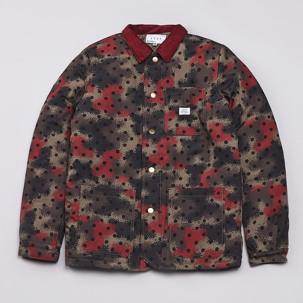 Less Spray Camouflage Jacket Red