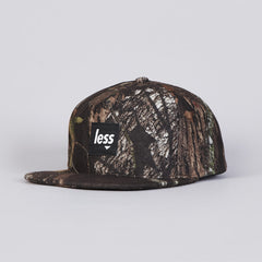 Less Square Logo Work Hat Woods Camo Green