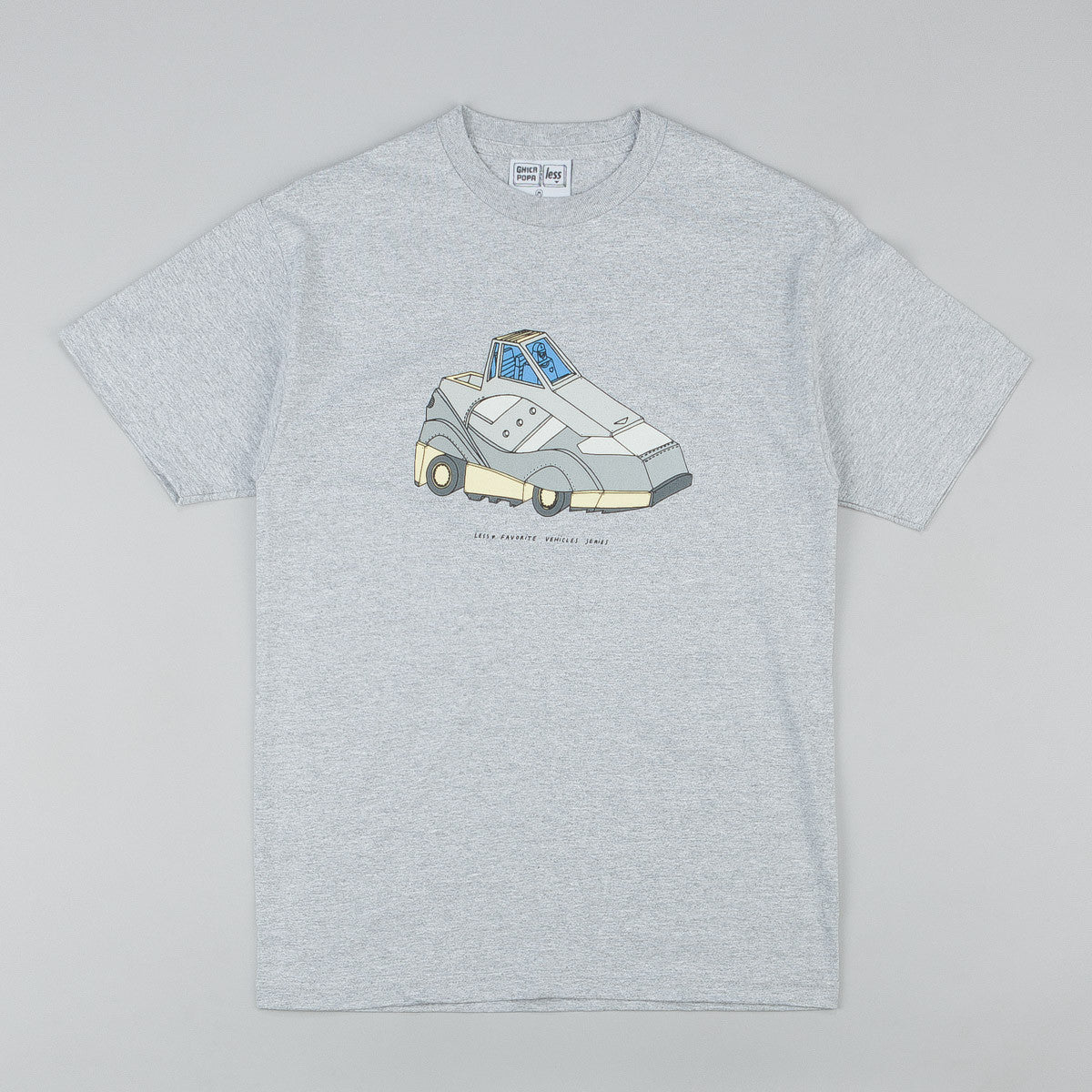 Less x Ghica Popa Vehicles Series G9 Shadow T-Shirt