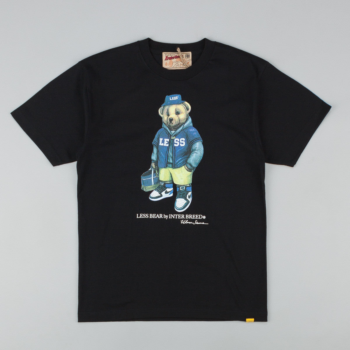 Less x Interbreed Bear T-Shirt - Black
