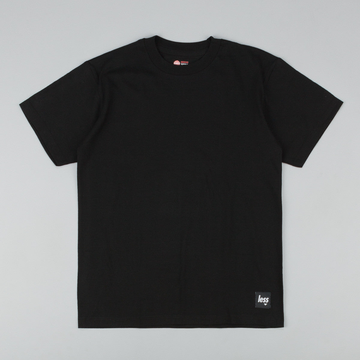 Less x Red Kap Single Jersey 2 Pack T-Shirt - Black