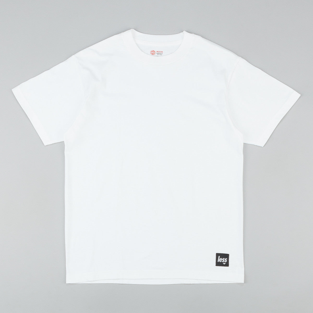 Less x Red Kap Single Jersey 2 Pack T-Shirt - White