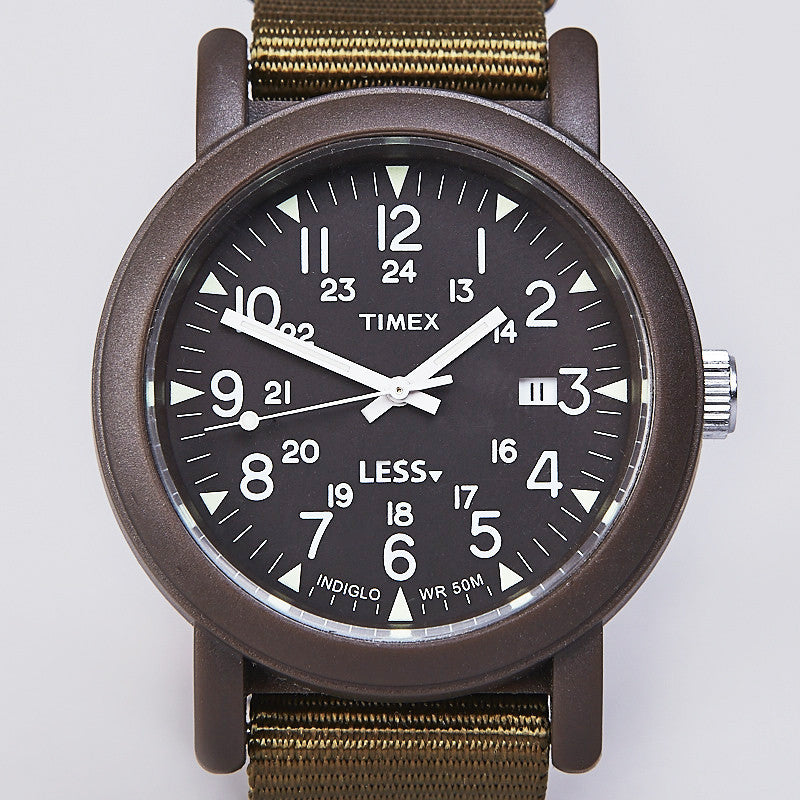 Less X Timex Original Camper Watch Military Green