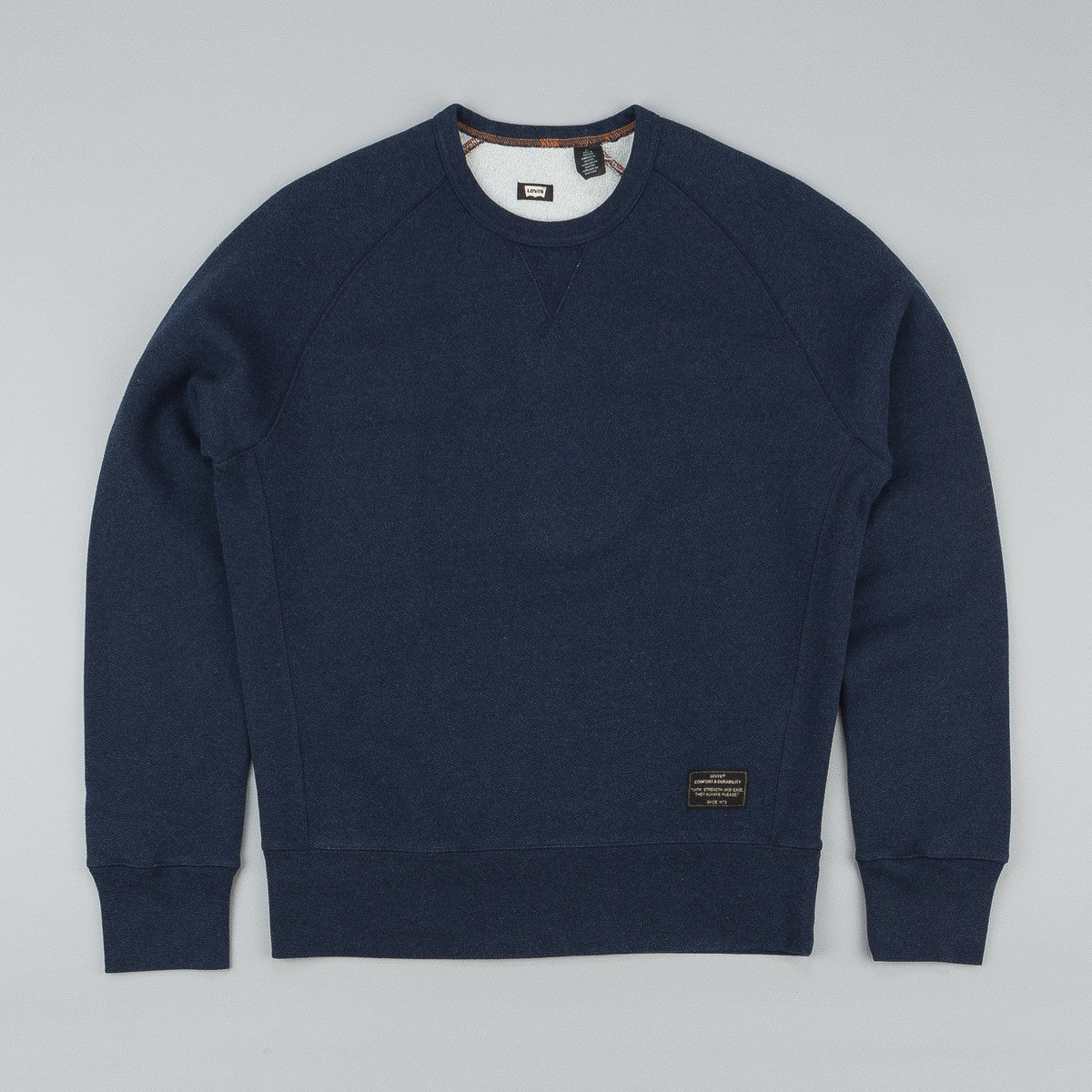 Levi's'® Skate Crew Neck Sweatshirt Dark Navy Heather