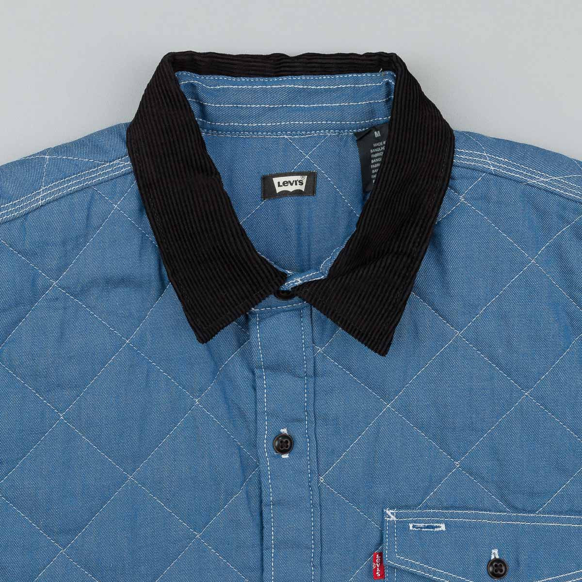 Levi's® Skate Quilted Mason Shirt - Chambray