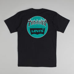 Levi's X Thrasher T-Shirt - Black / Green