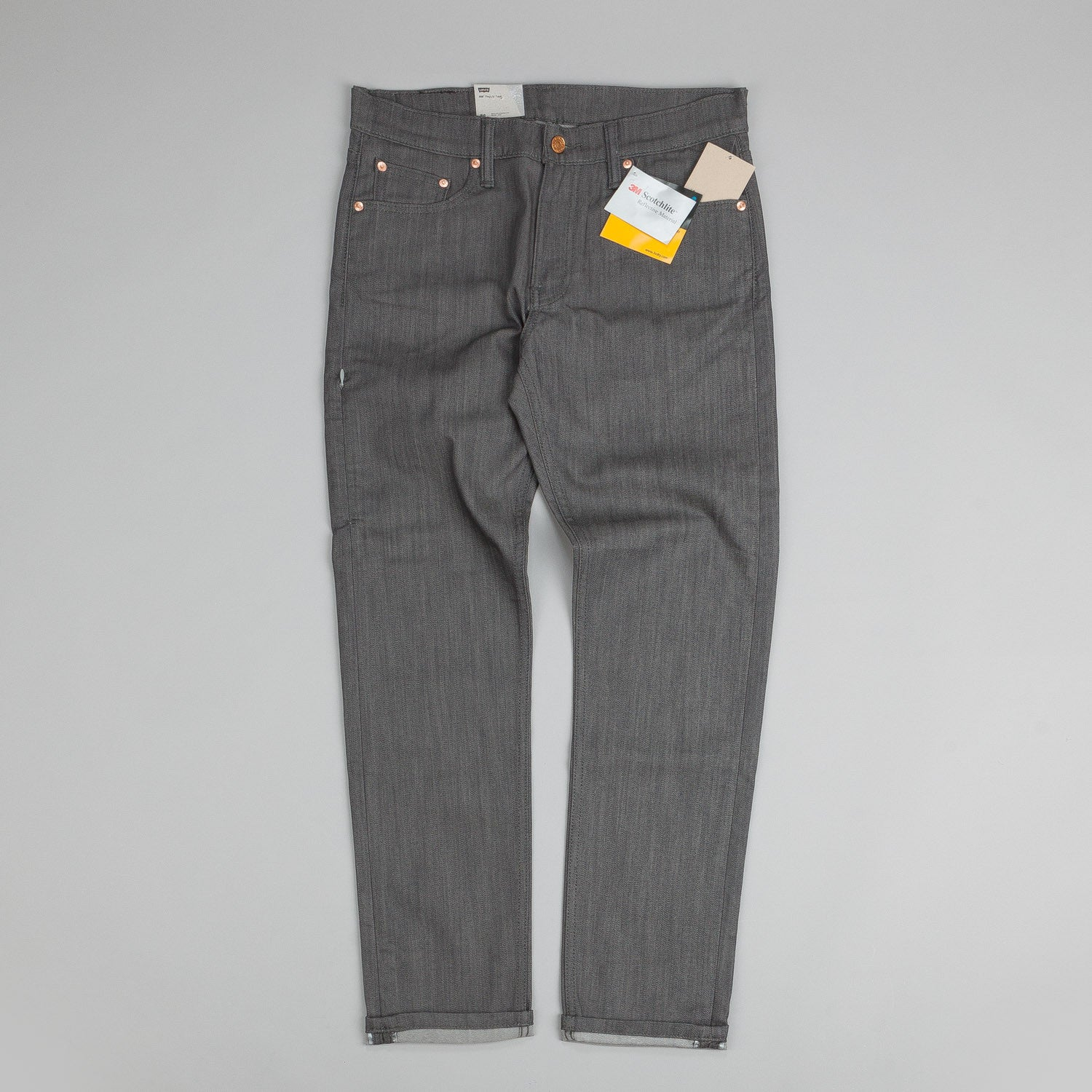Levi's® Commuter 508 Jeans Grey Denim Rigid