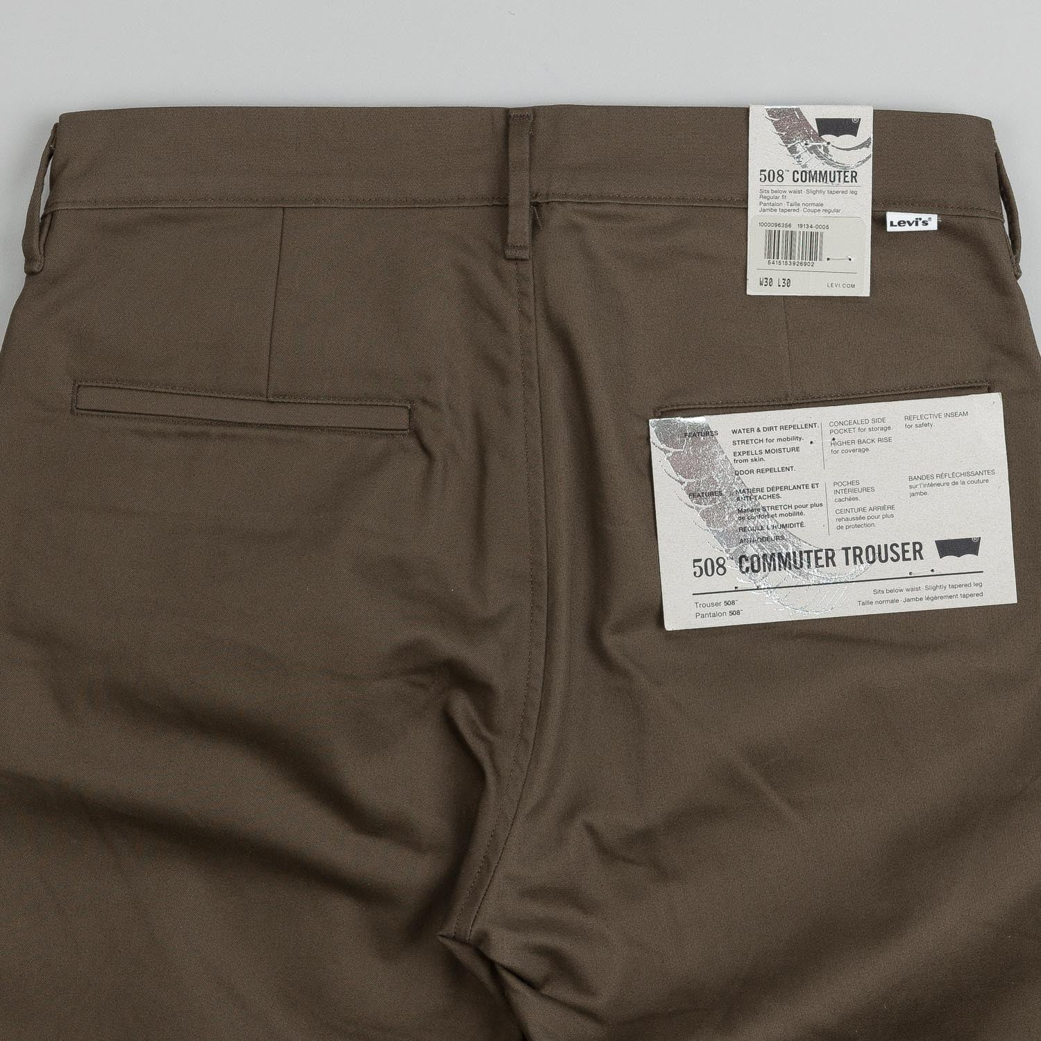 Levi's® Commuter 508 Trouser Olive Jungle