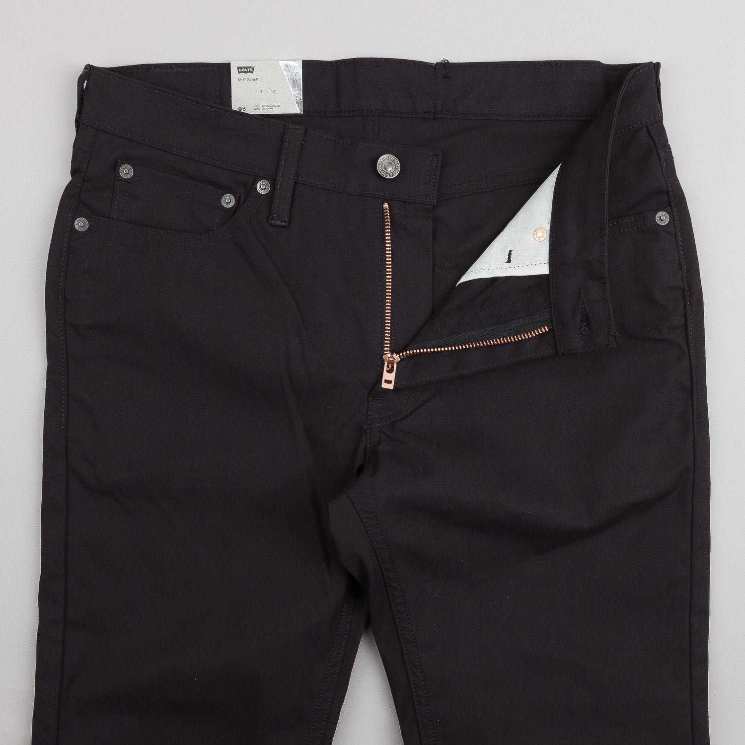 Levi's® Commuter Series 511 Slim Chino - Black Canvas Eco