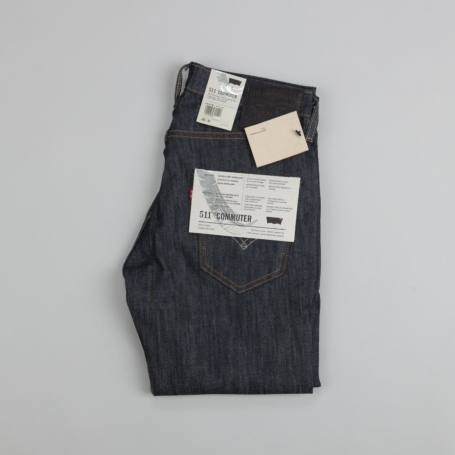 Levi's'® Commuter Series 511 Slim Jeans Indigo Denim Rigid