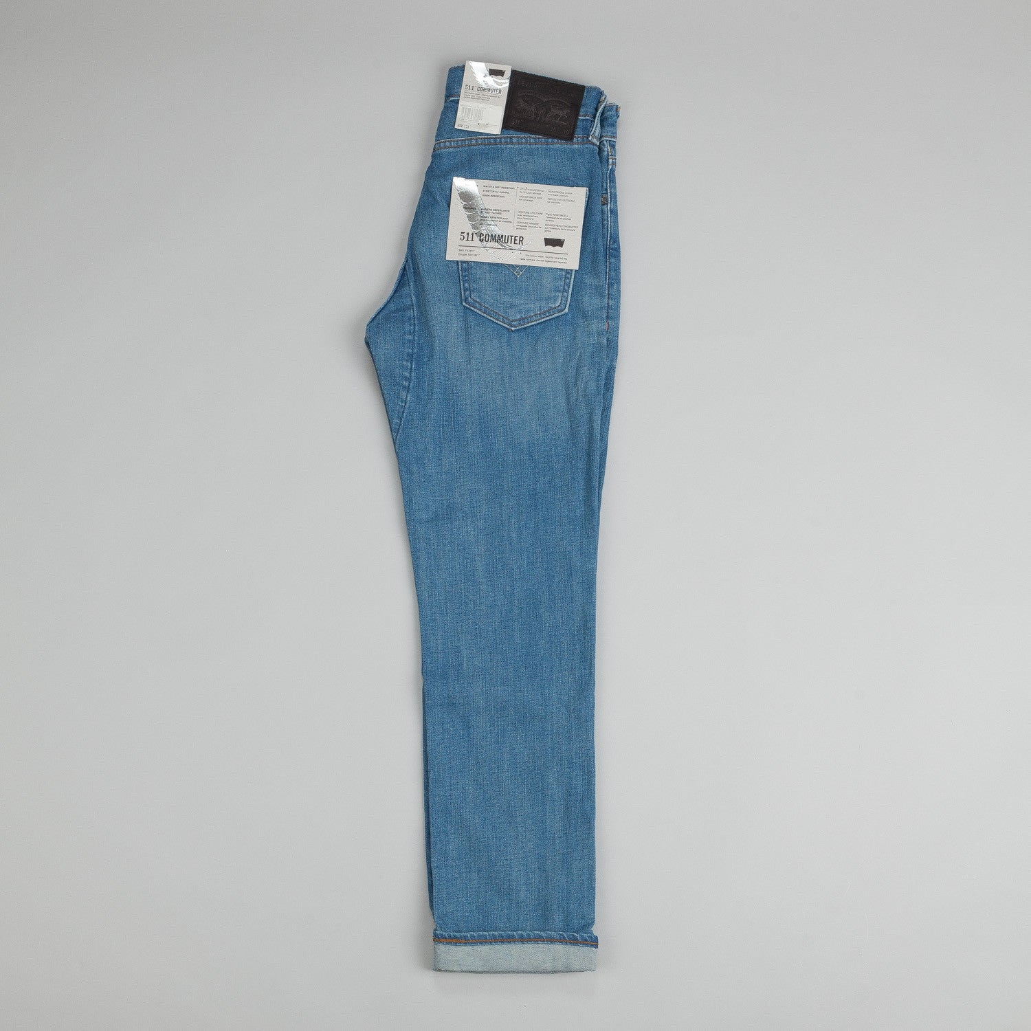 Levi's® Commuter Series 511 Slim Jeans Indigo Light Chain