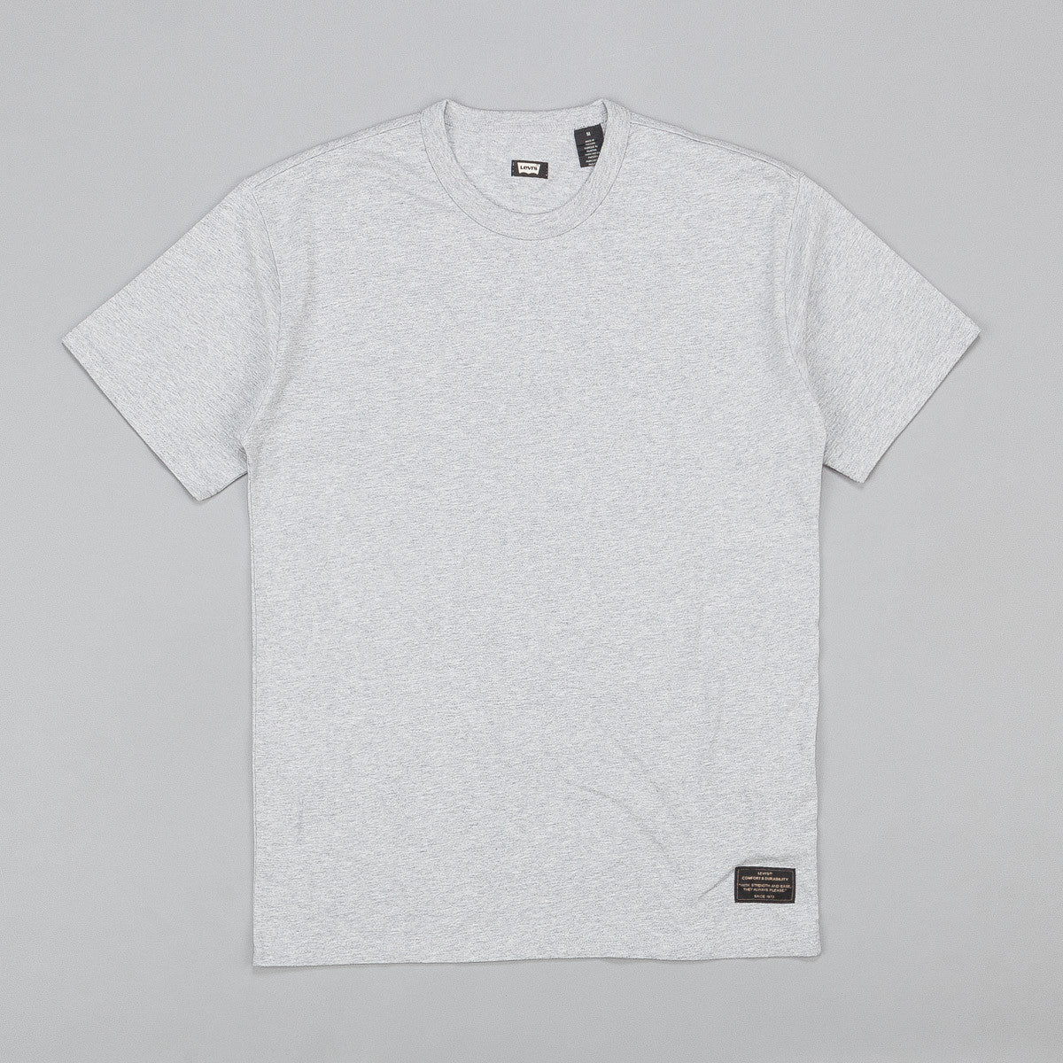 Levi's® Skate 2 Pack T-Shirt - Grey / Lotus Blue