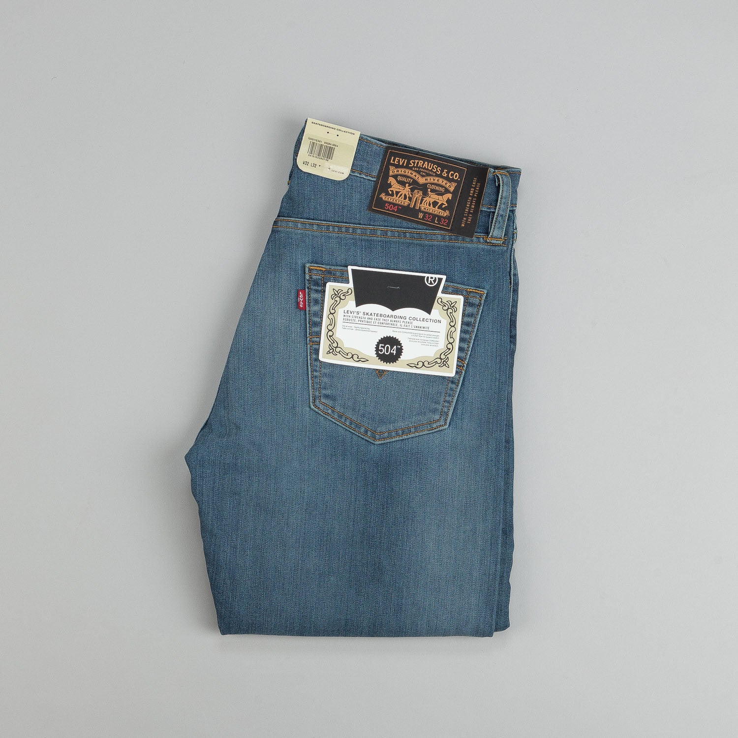 Levi's® Skate 504 Straight Jeans - Avenues
