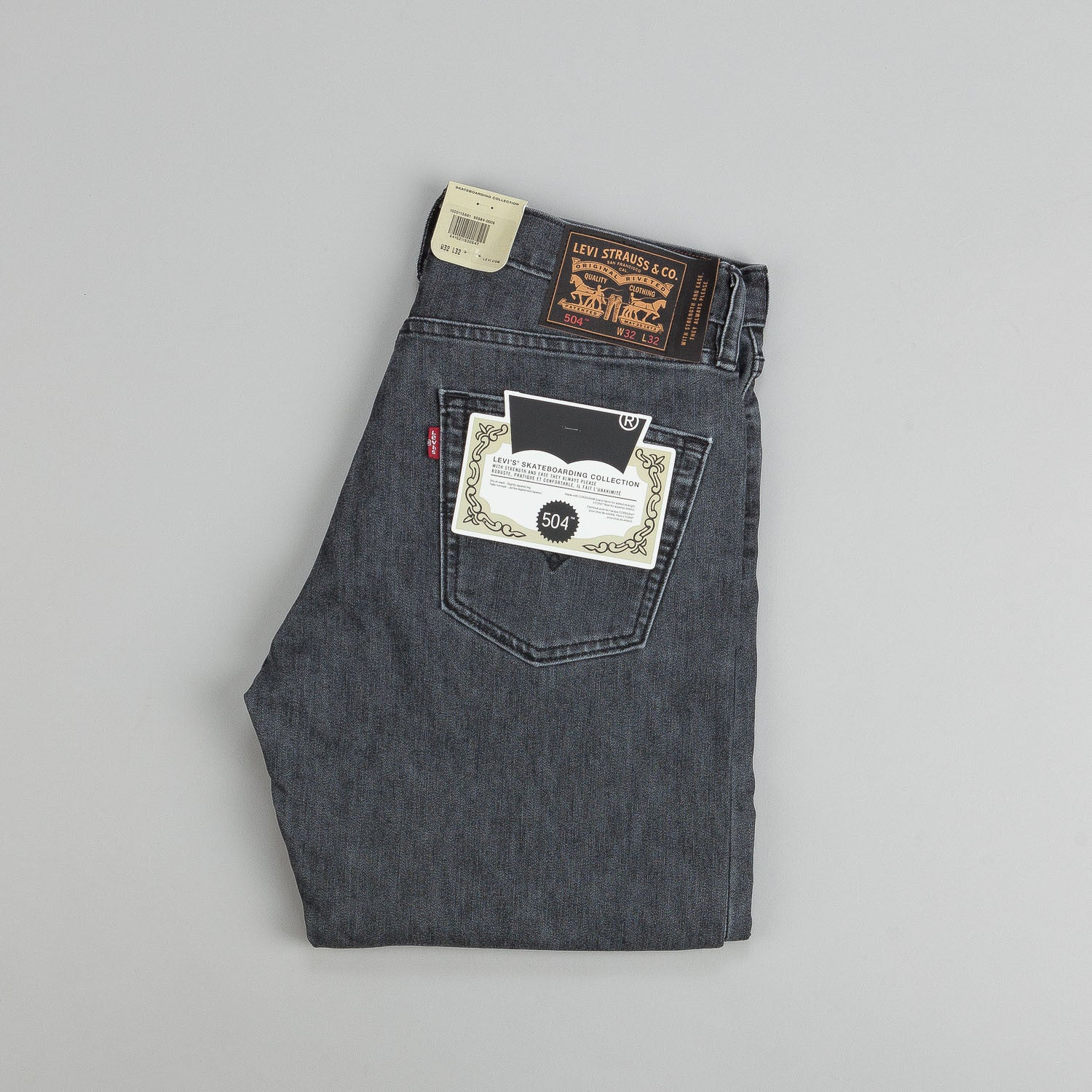 Levi's® Skate 504 Straight Jeans Geary