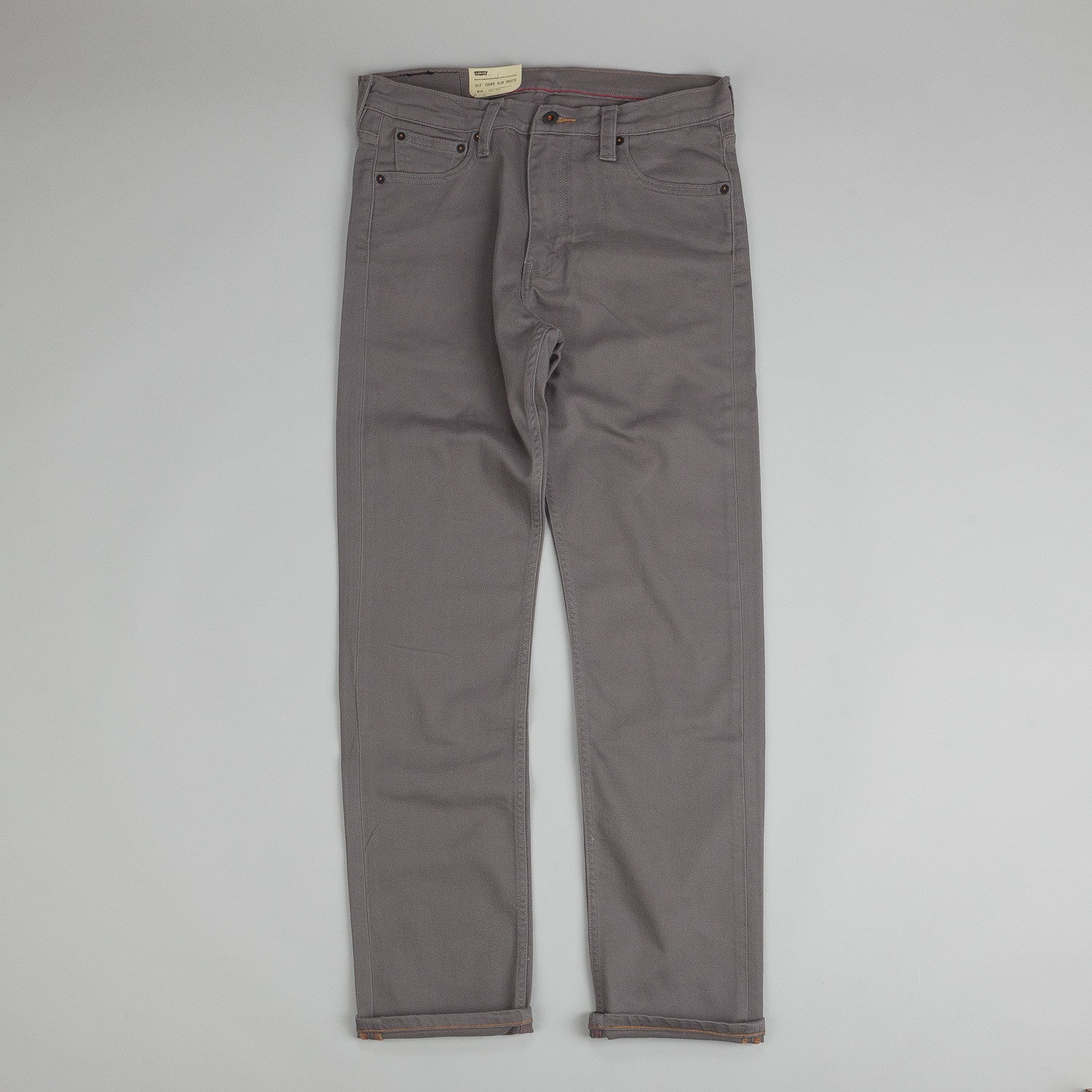 Levi's® Skate 513 Slim 5 Pocket Pewter Bull