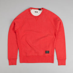 Levi's® Skate Crew Neck Sweatshirt Aurora Red Heather