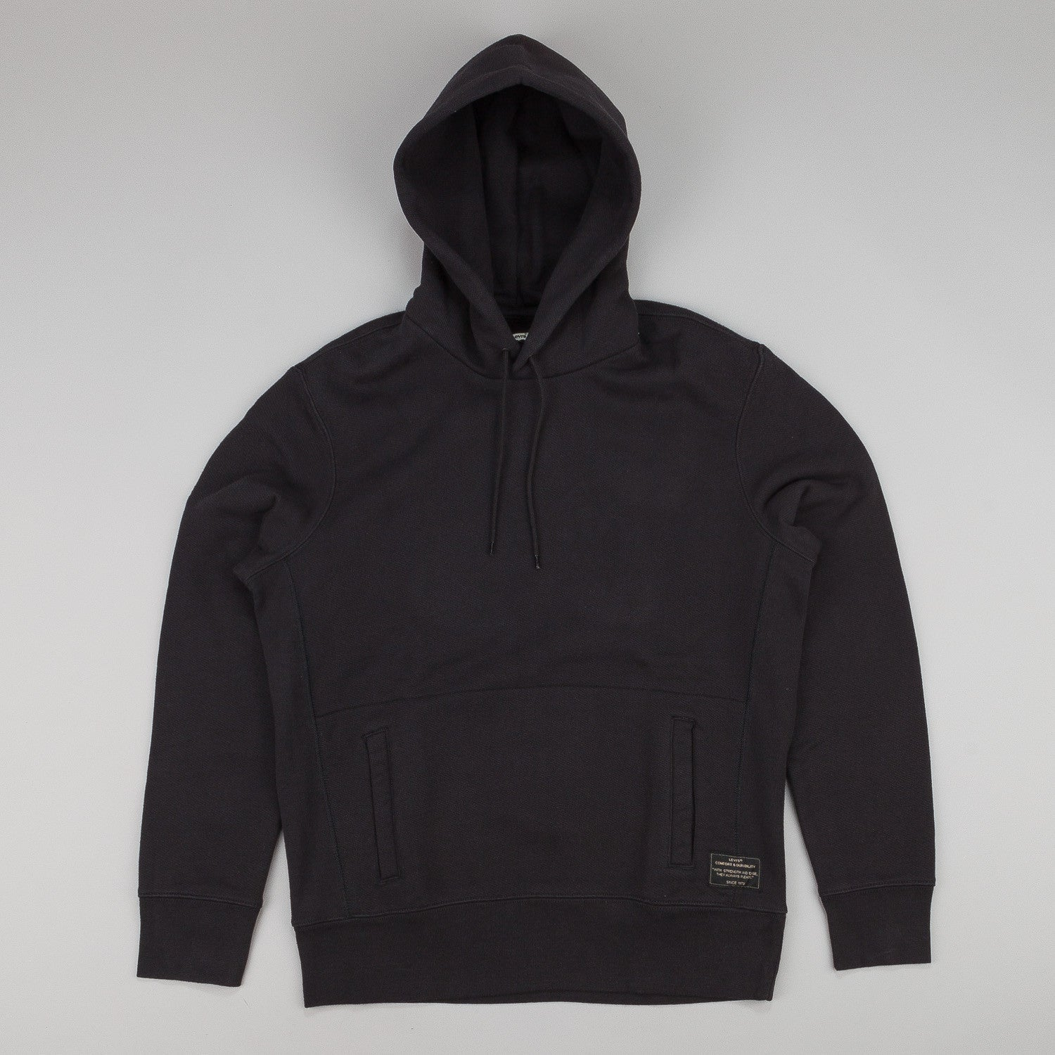Levi's® Skate Hooded Sweatshirt Jet Black