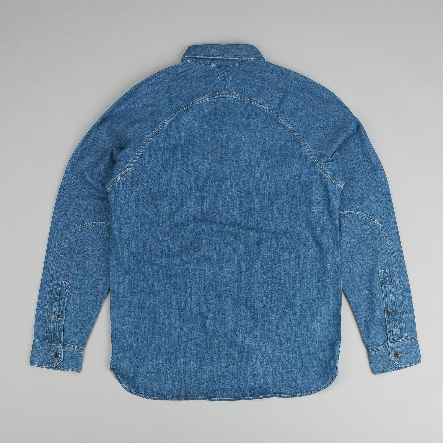 Levi's® Skate Maintenance L/S Shirt Chambray Washdown