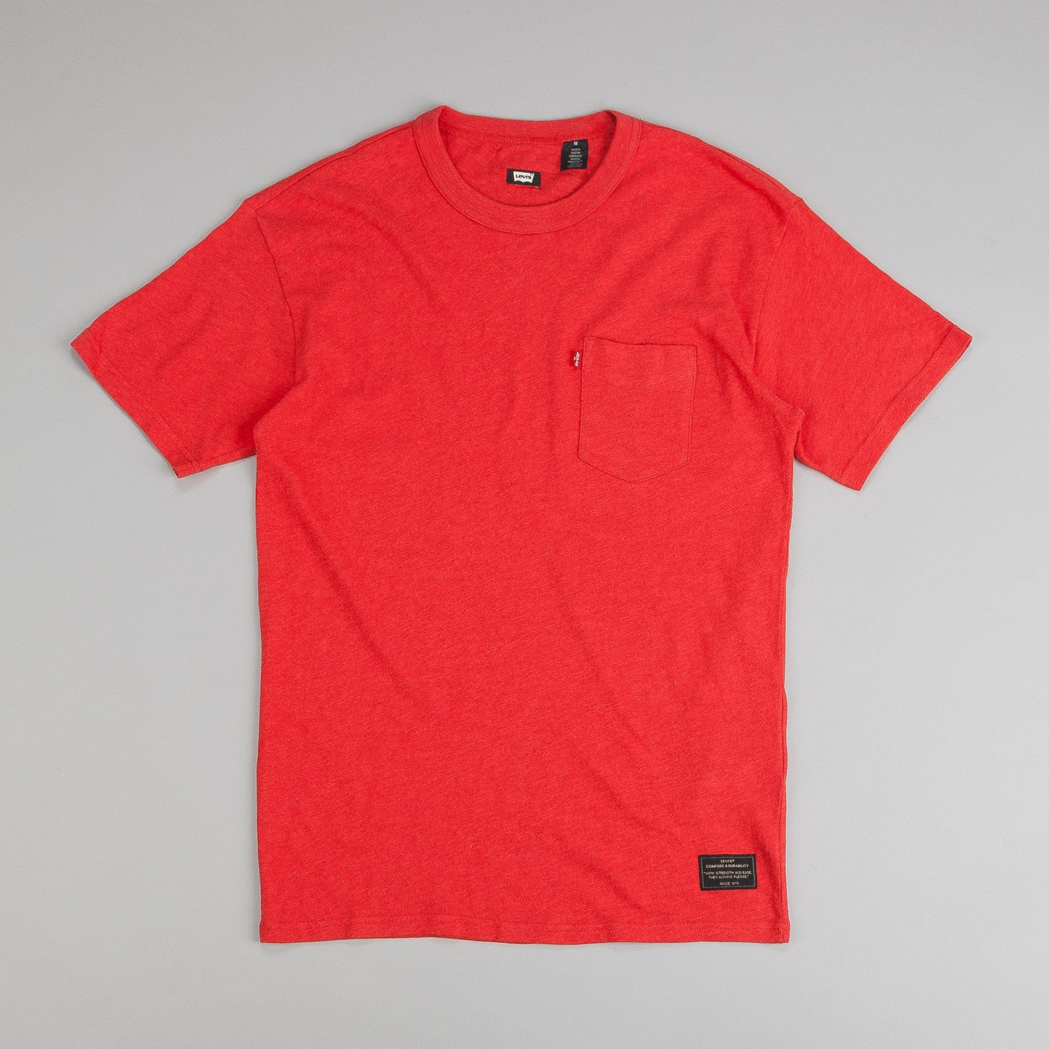 Levi's® Skate Pocket Short Sleeve T-Shirt Aurora Red Heather