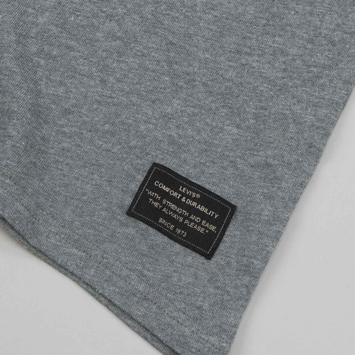 Levi's® Skate Pocket Short Sleeve T-Shirt - Lead Grey Heather