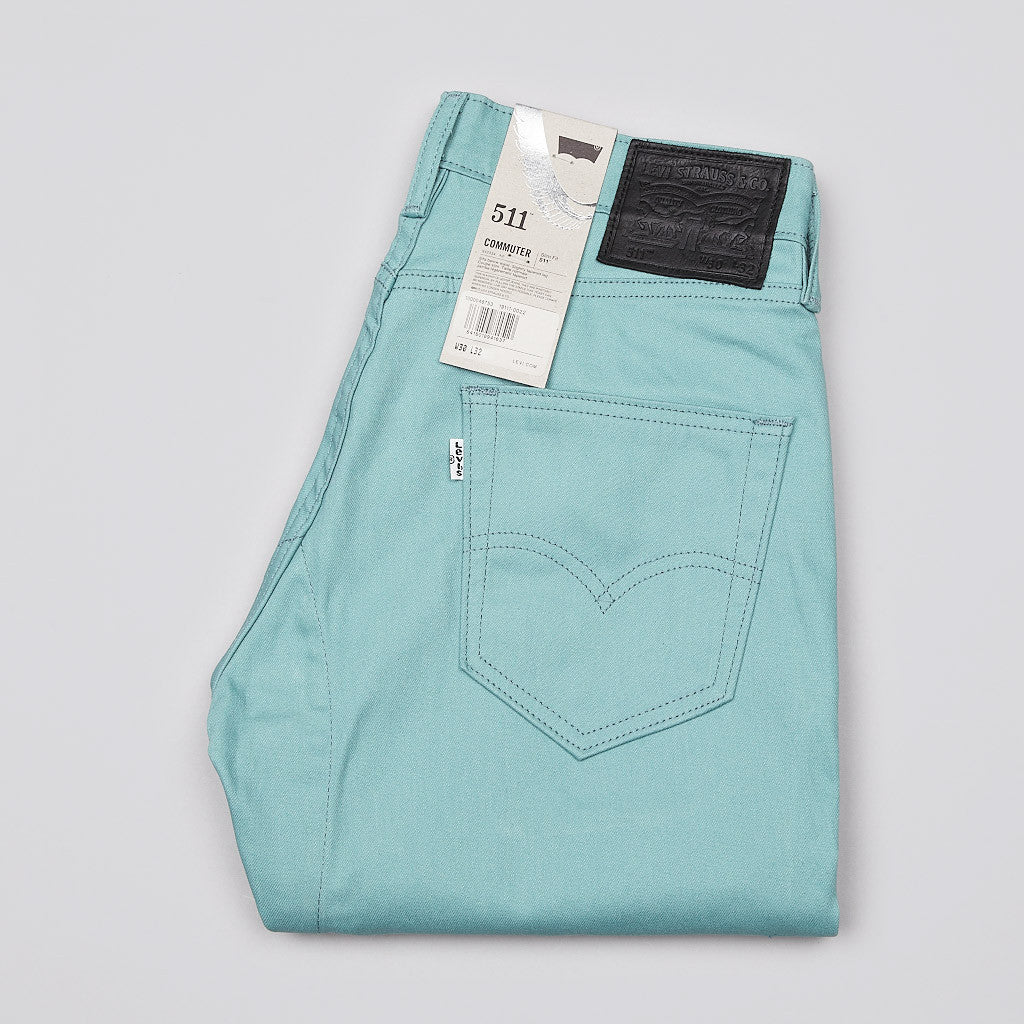 Levi's'® Commuter Series 511 Slim Jeans Performance Oil Blue