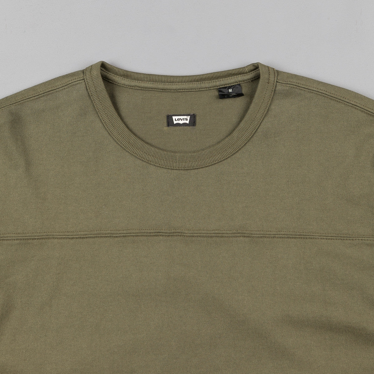 Levi's® Skate Long Sleeve Football Shirt - Ivy Green
