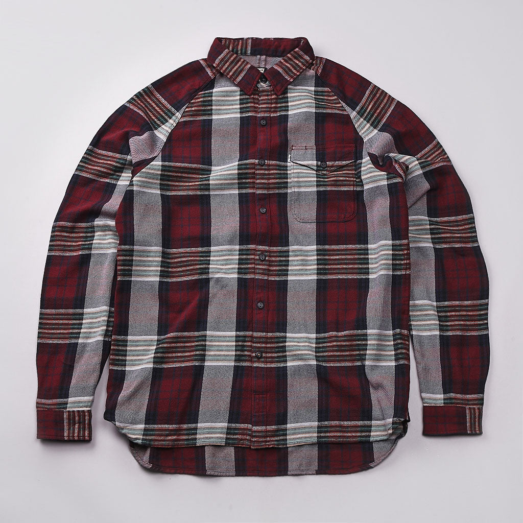 Levi's'® L/S Manual Shirt Cabernet Plaid
