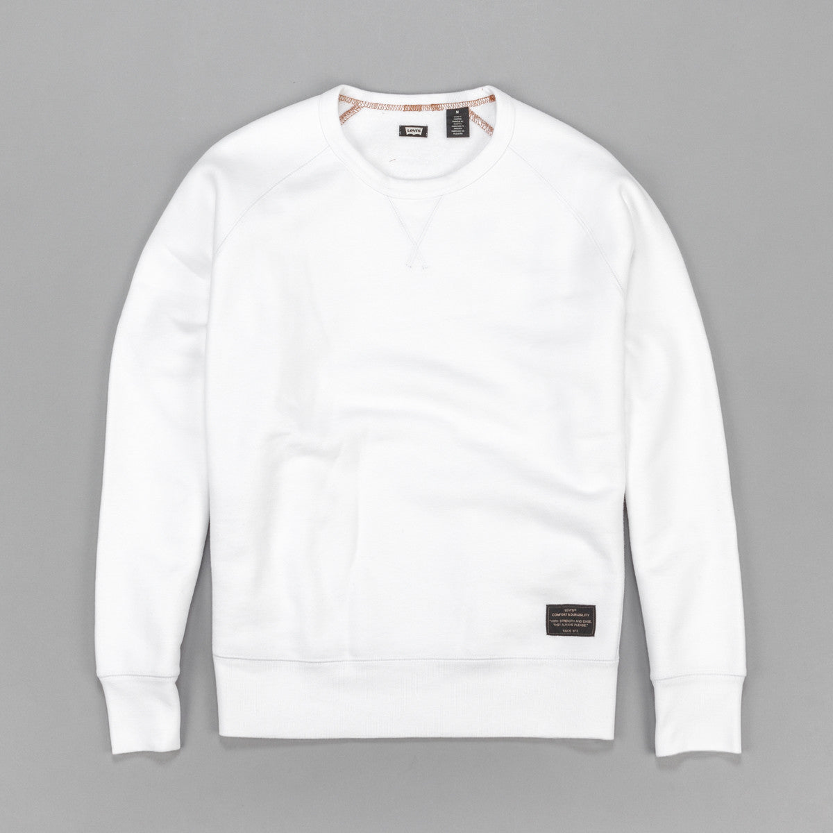 Levi's'® Skate Crew Neck Sweatshirt - Bright White