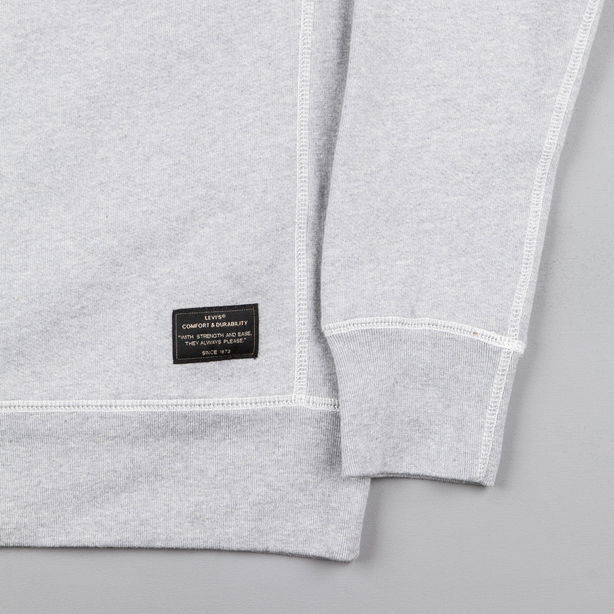 Levi's® Skate Crew Neck Sweatshirt Heather Grey