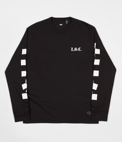 Levi's Skate Graphic Long Sleeve T-Shirt - Black