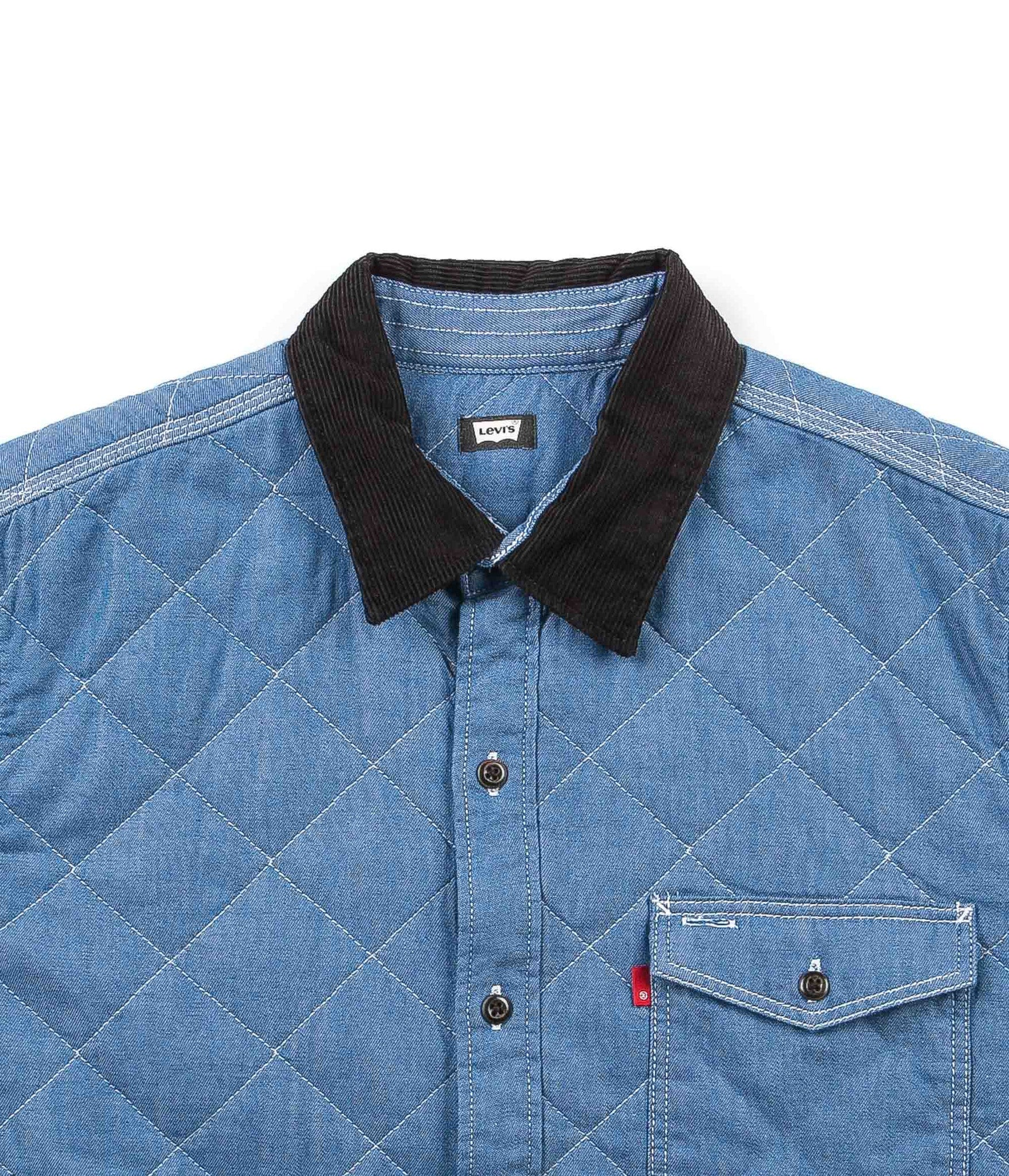 Levi's® Skate Quilted Mason 2 Shirt - Washed Mason