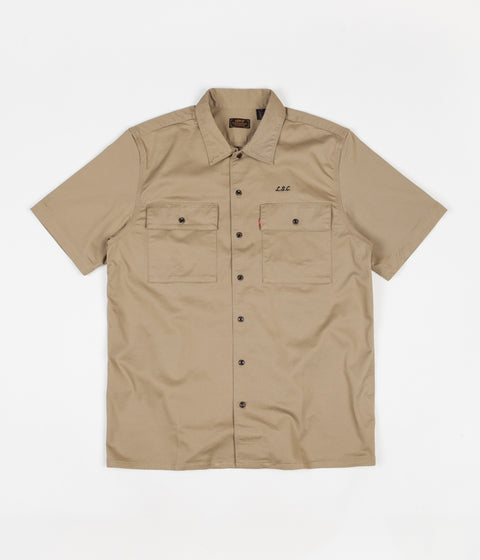 Levi's® Skate Short Sleeve Button Down Shirt - Harvest Gold