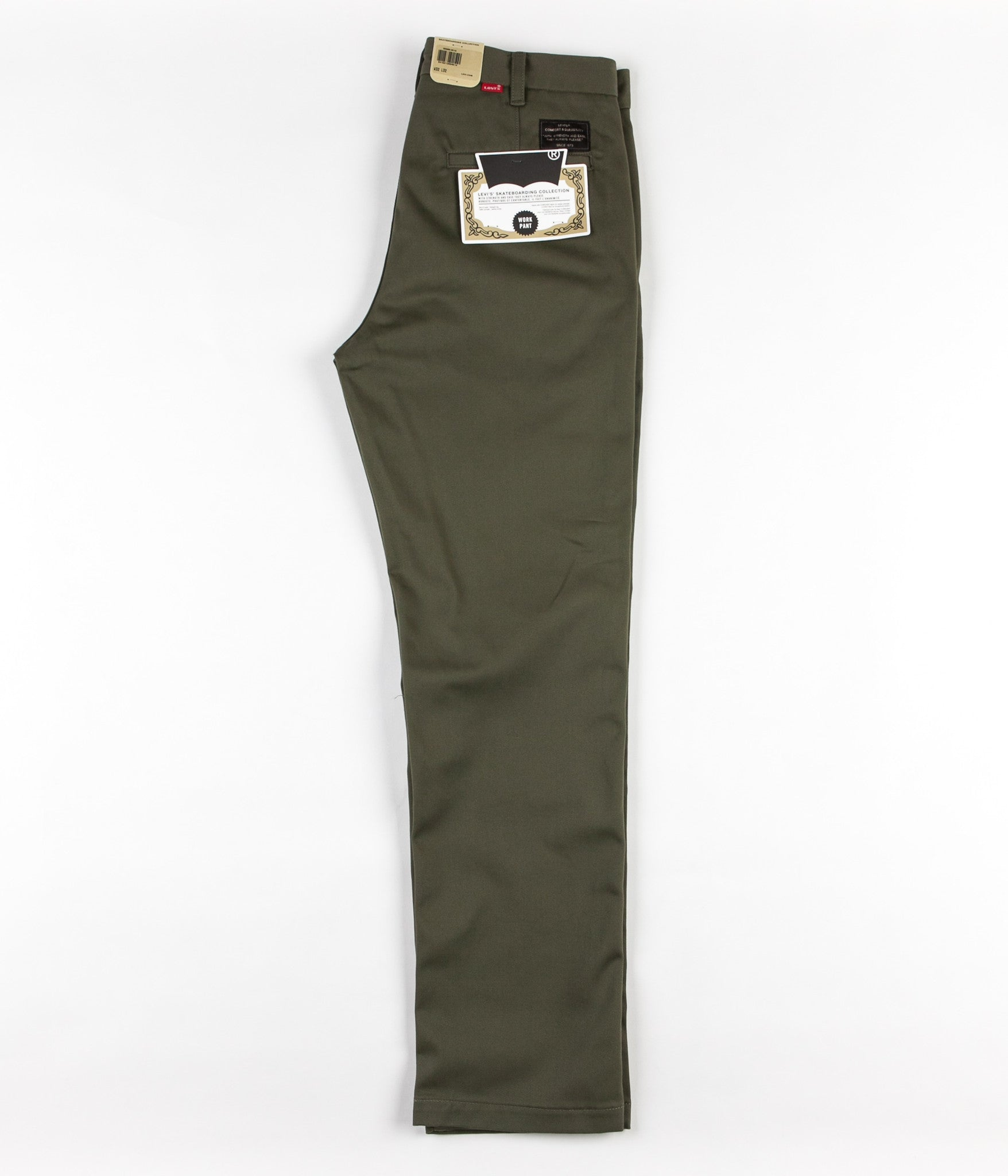 Levi's® Skate Work Trousers - Ivy Green