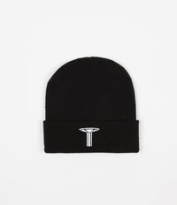 Long Live Southbank Pillar Beanie - Black / White
