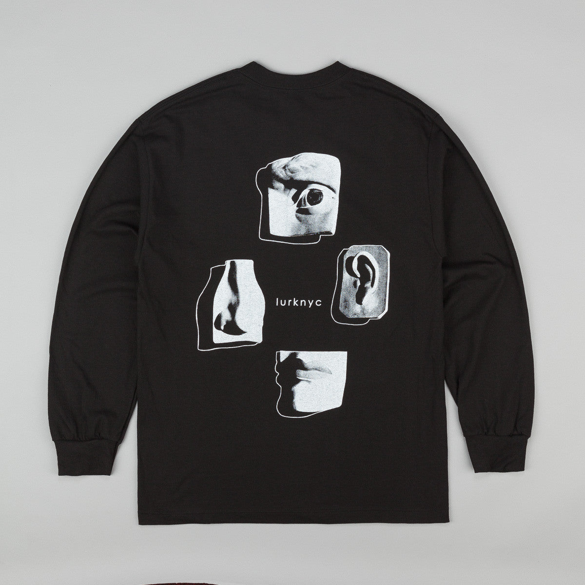 Lurk NYC Faces Long Sleeve T-Shirt - Black