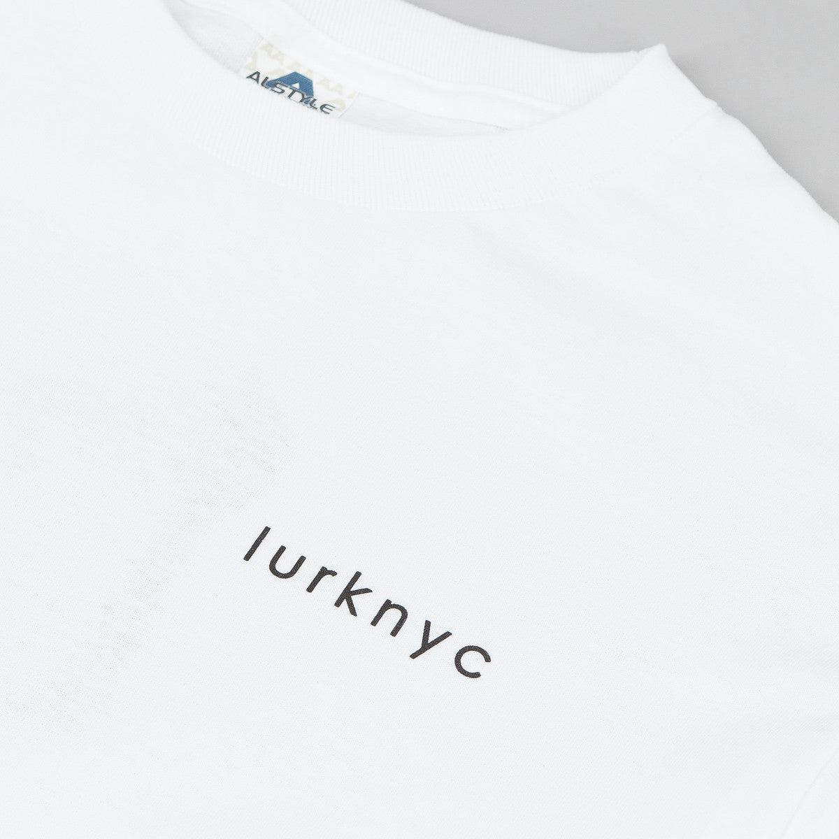 Lurk NYC Faces Long Sleeve T-Shirt - White