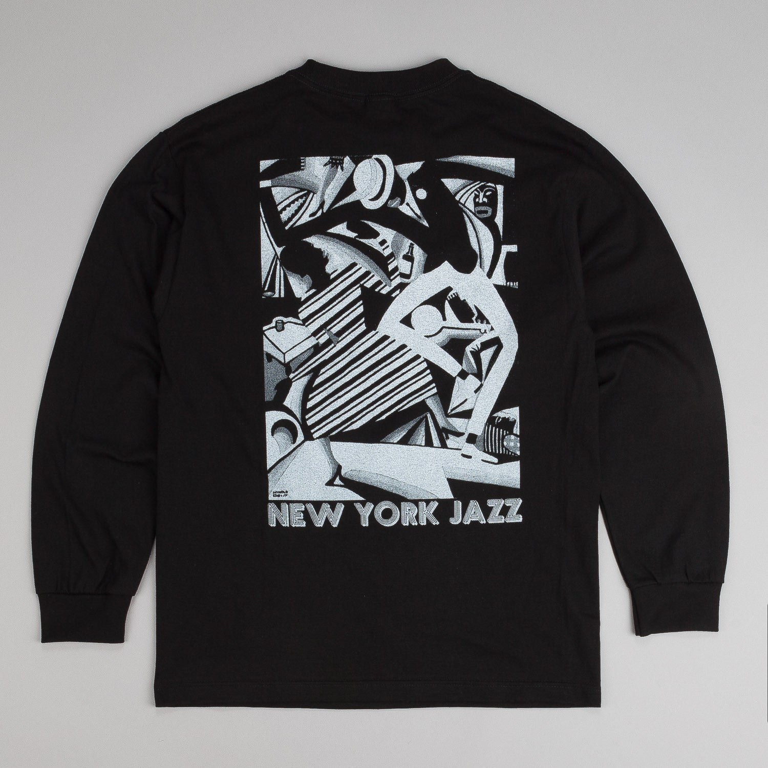 Lurk NYC Jazz L/S T-Shirt - Black