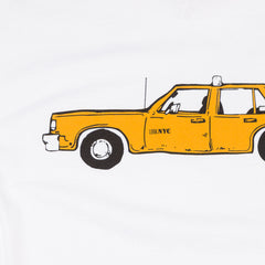 Lurk NYC Taxi Long Sleeve T-Shirt - White