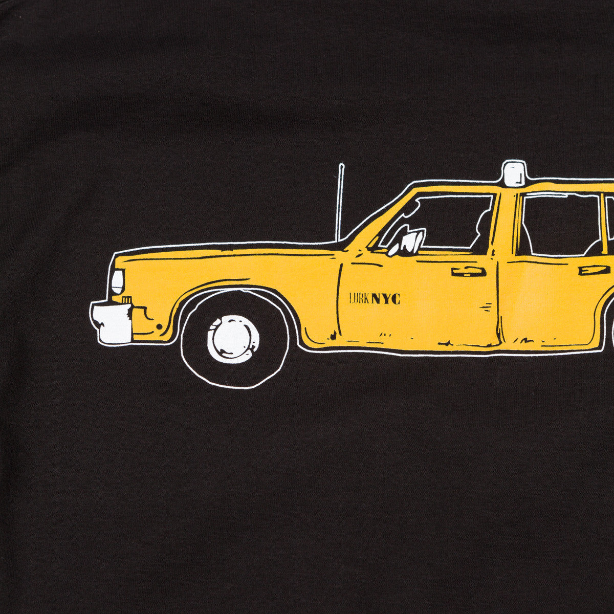 Lurk NYC Taxi T-Shirt -Black