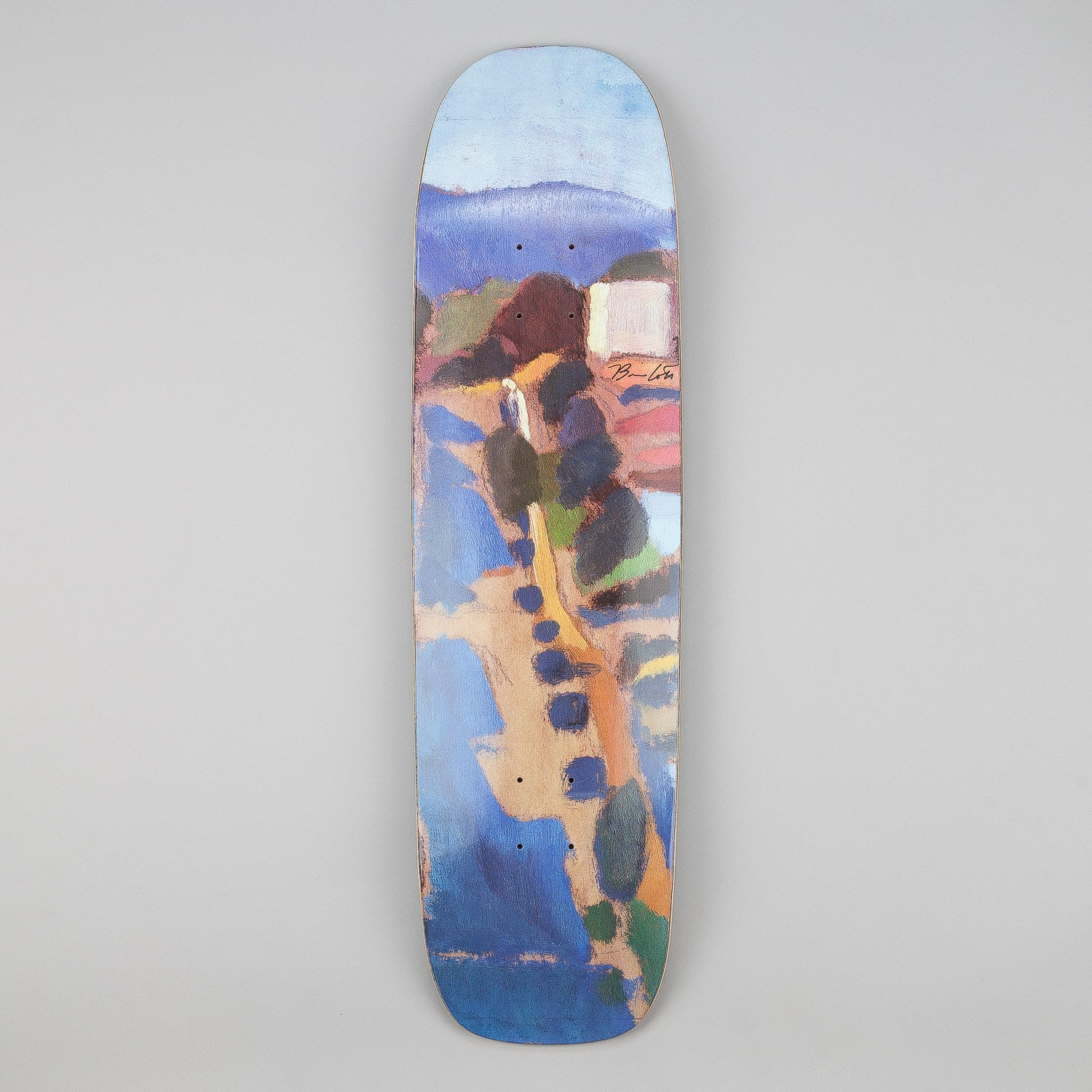 Magenta Brian Lotti Guest Artist Shaped Deck 8.6""