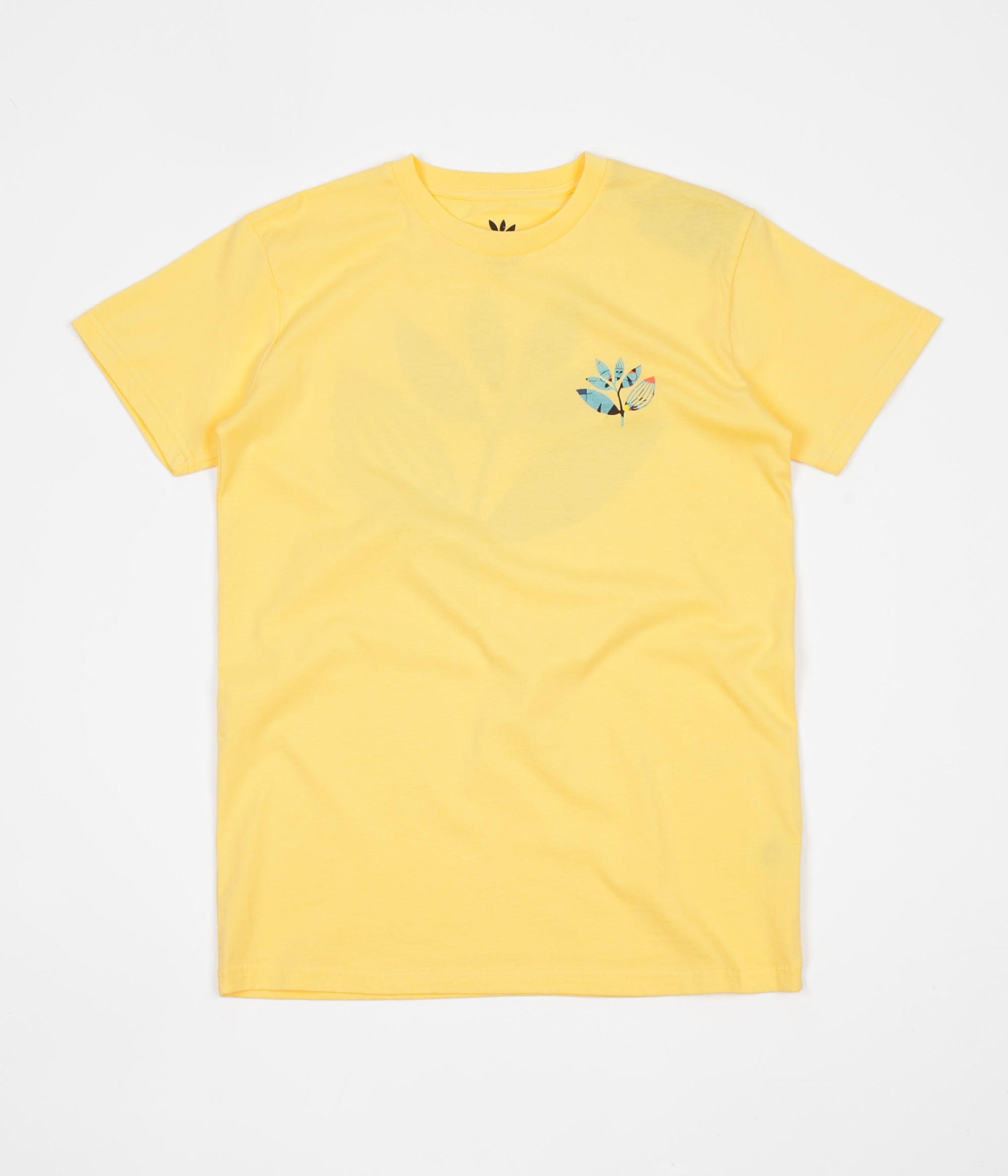 Magenta Miro T-Shirt - Yellow
