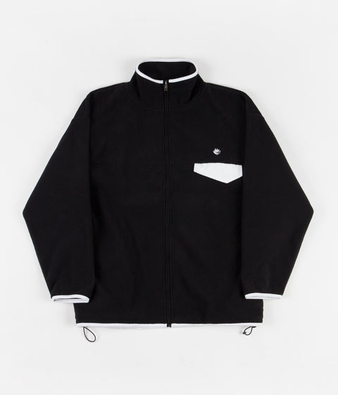 Magenta Northfleece Zip Jacket - Black / White