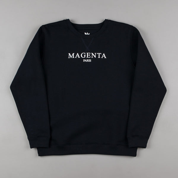 Magenta Paris Crewneck Sweatshirt - Navy