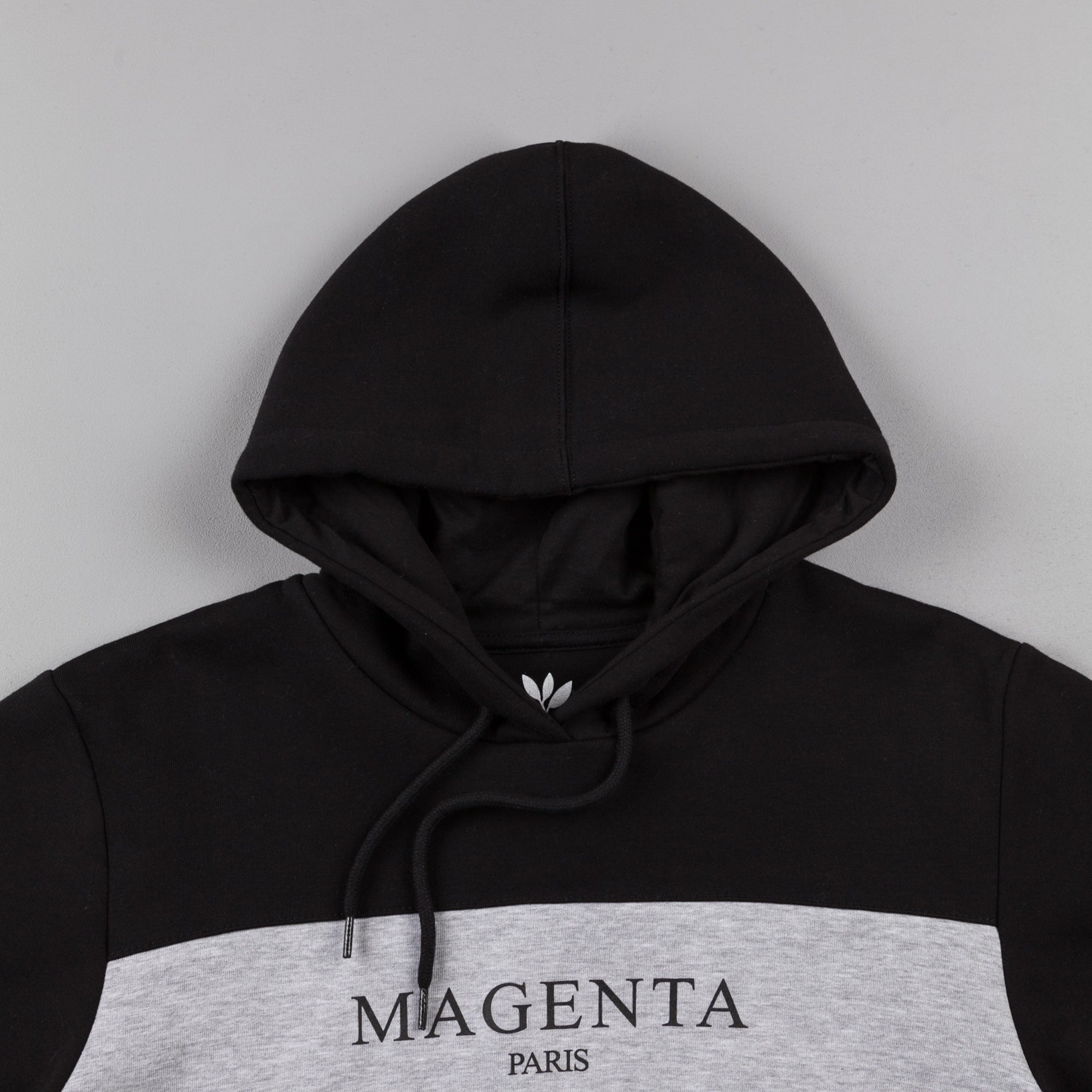 Magenta Paris Hooded Sweatshirt - Black