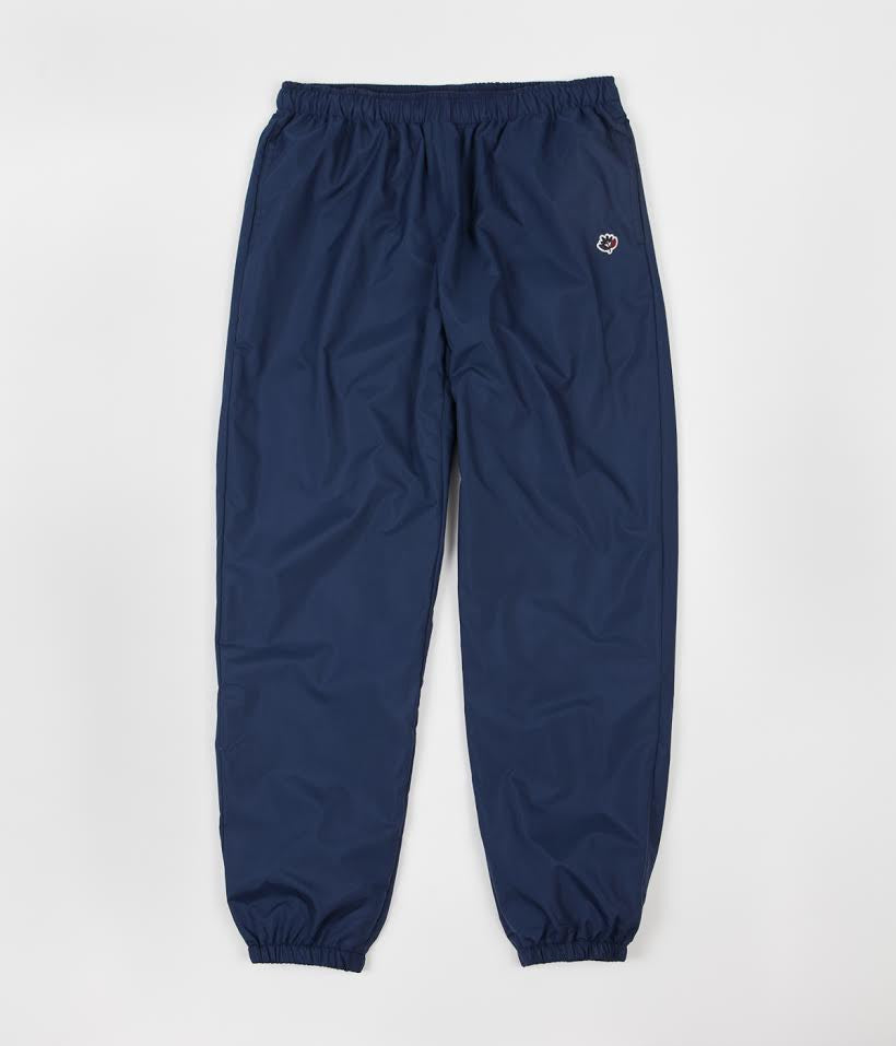 Magenta Plant Sweatpants - Dark Navy