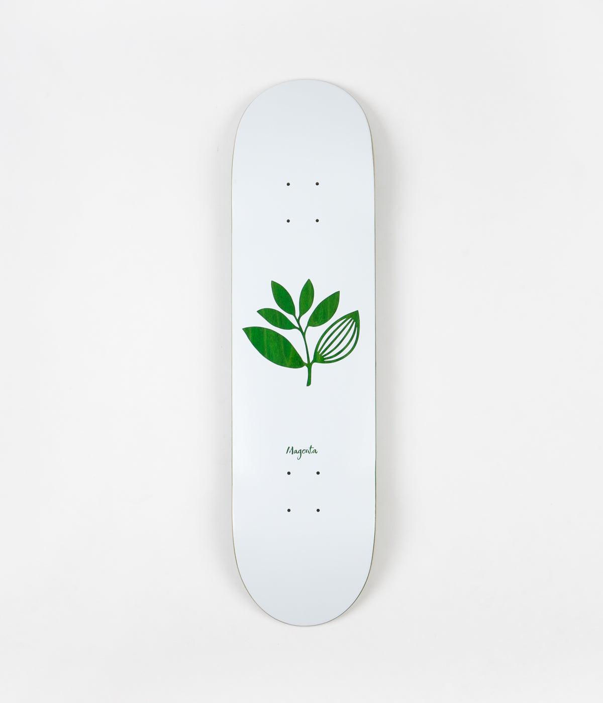 Magenta Team Wood Deck - 8.125""