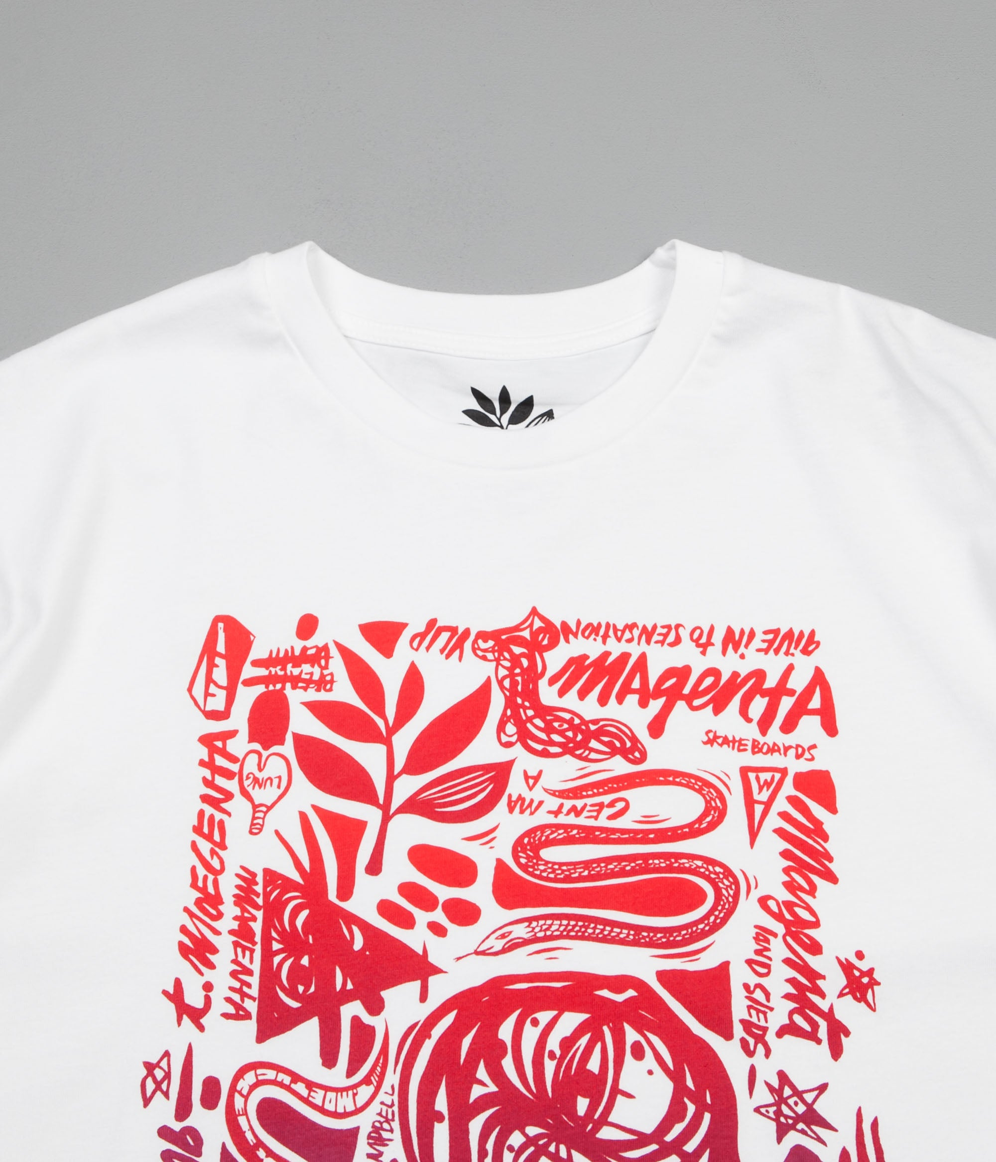 Magenta Thomas Campbell T-Shirt - White