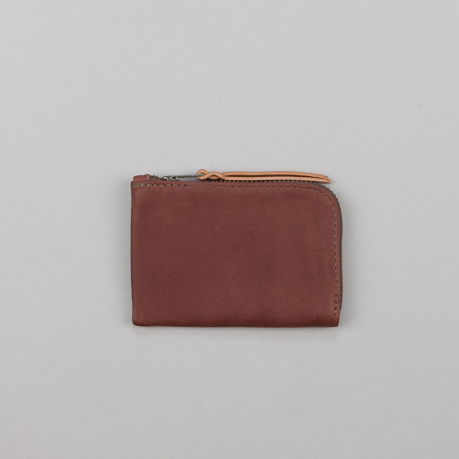 Makr Zip Slim Leather Wallet
