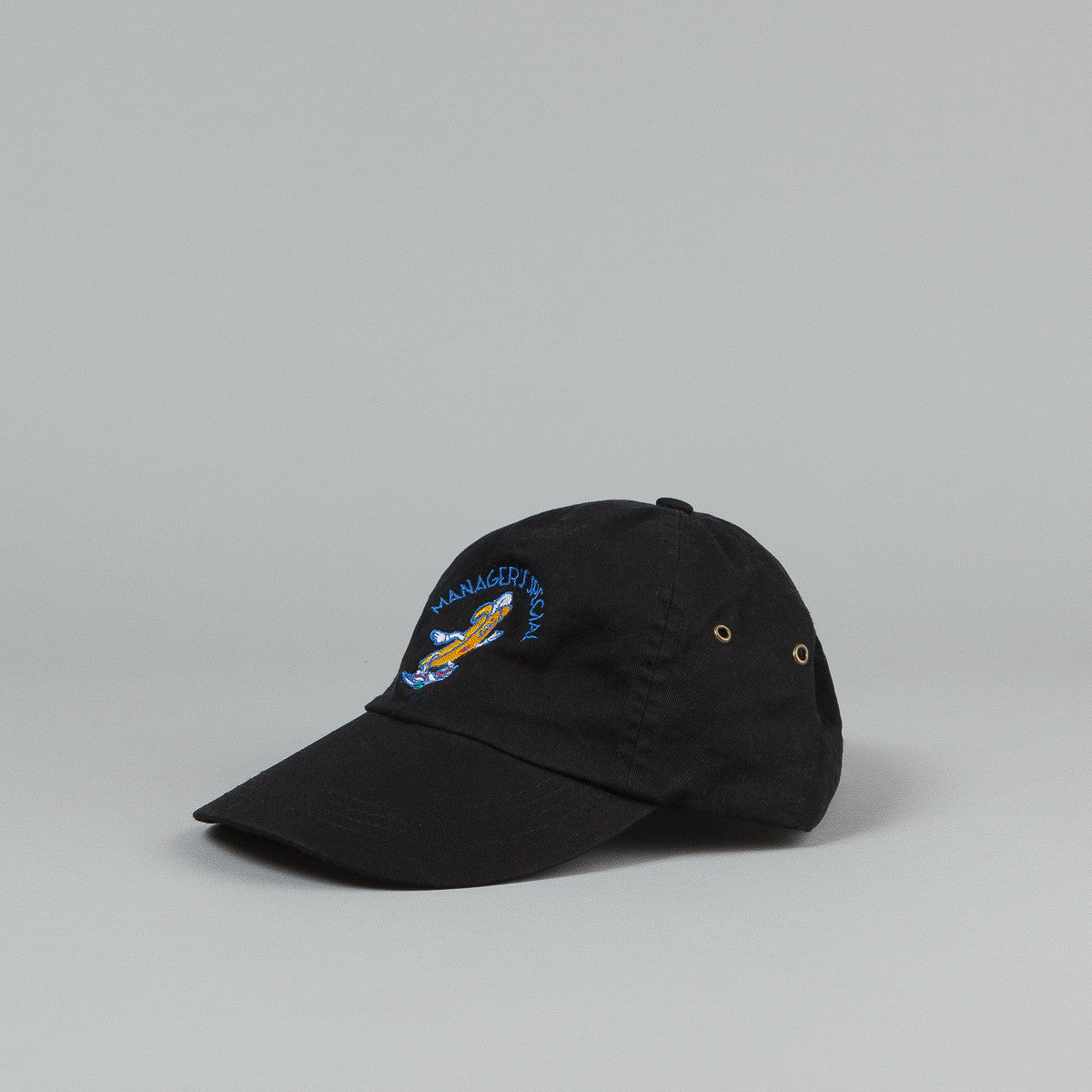 Manager's Special Bobby The Banana Dad Cap - Black